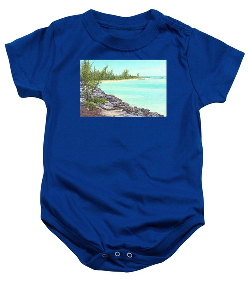 Beach Cove Baby Onesie