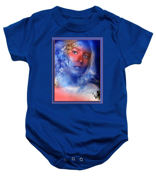 Beauty In The Clouds Baby Onesie