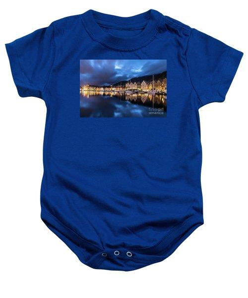 Bergen Harbor Baby Onesie