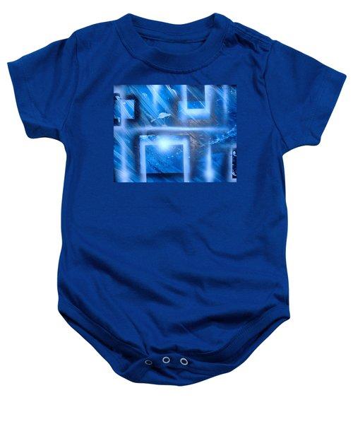 Big Blue II Baby Onesie