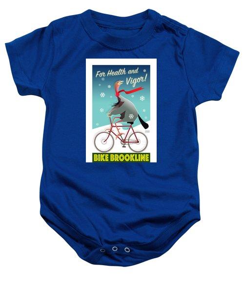 Bike Brookline Baby Onesie