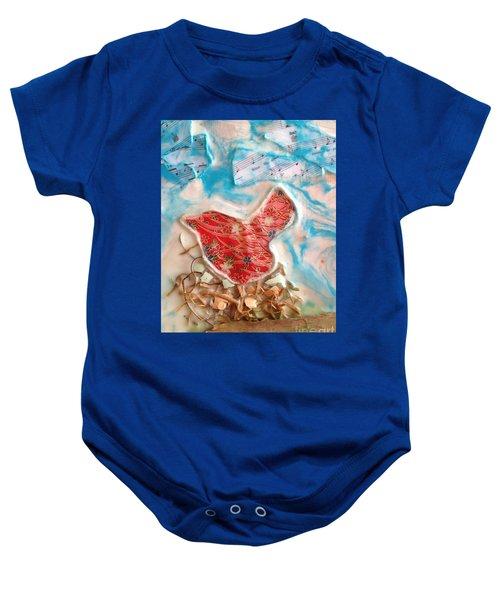 Bird Song Baby Onesie