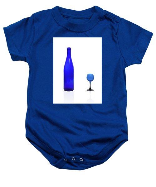 Blue  #2438 Baby Onesie