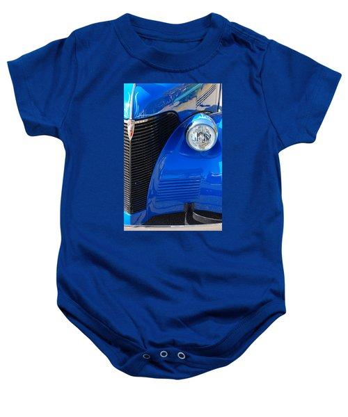 Blue Chevy Baby Onesie