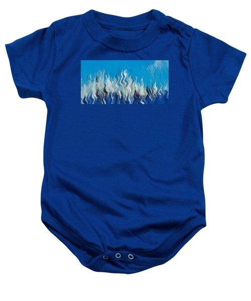 Blue Mist Baby Onesie