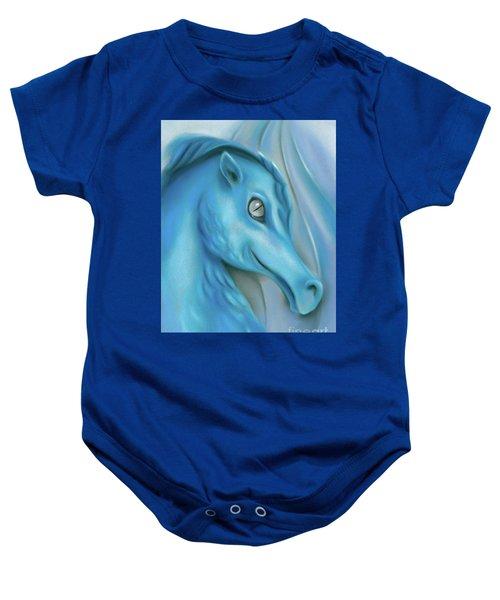 Blue Dragon Baby Onesie
