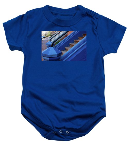 Blue Entry Baby Onesie