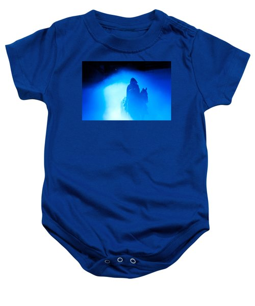 Blue Knight Baby Onesie
