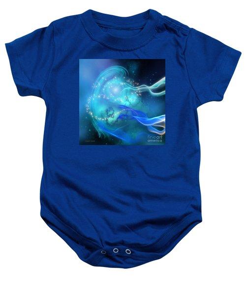 Blue Nebula Baby Onesie