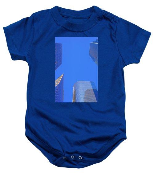 Blue Sky Over Bunker Hill Baby Onesie