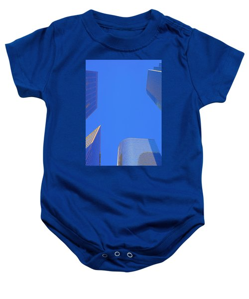 Blue Sky Over Bunker Hill Baby Onesie