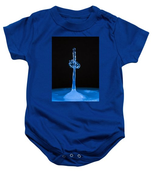 Blue Sword Baby Onesie