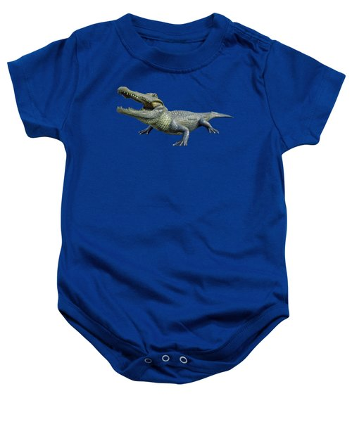 Bull Gator Transparent For T Shirts Baby Onesie