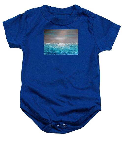 Calm Water Baby Onesie