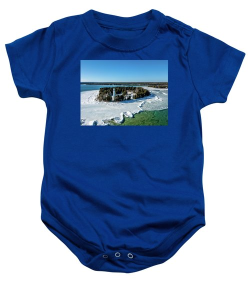 Cana Island Baby Onesie