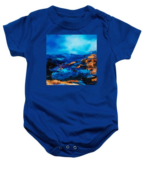 Canyon Song Baby Onesie
