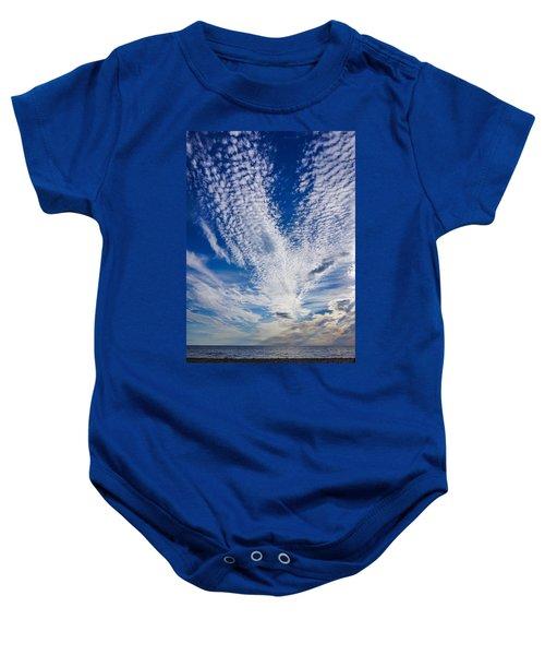 Cape Clouds Baby Onesie