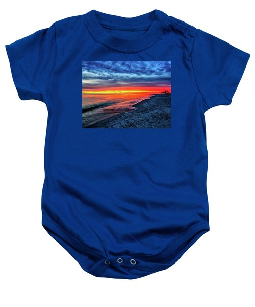 Captiva Island Sunset Baby Onesie