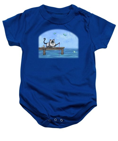 Cat Fish Baby Onesie