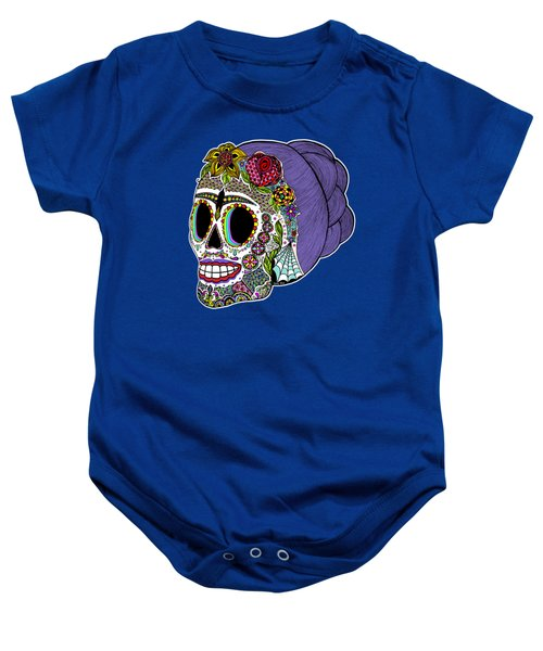 Catrina Sugar Skull Baby Onesie