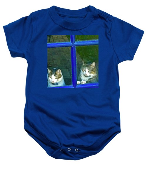 Cats On Baylor Street Baby Onesie