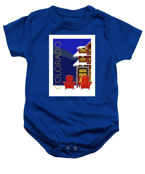 Colorado Chairs Baby Onesie