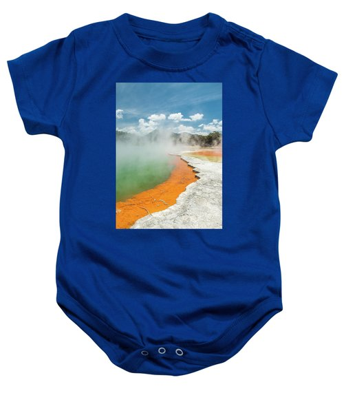 Champagne Pool Baby Onesie