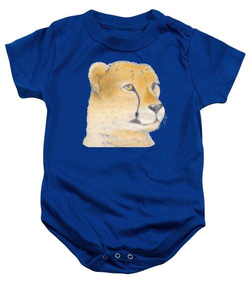 Cheetah 3 Baby Onesie by Gilbert Pennison