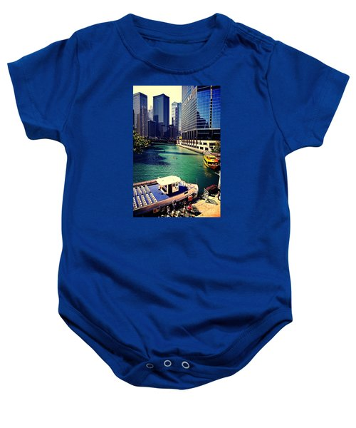 City Of Chicago - River Tour Baby Onesie