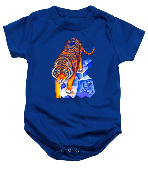 Chinese Zodiac - Year Of The Tiger Baby Onesie