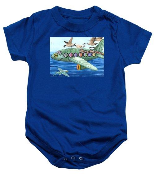 Cod Is My Co-pilot Baby Onesie