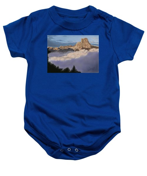 Cold Mountains Baby Onesie