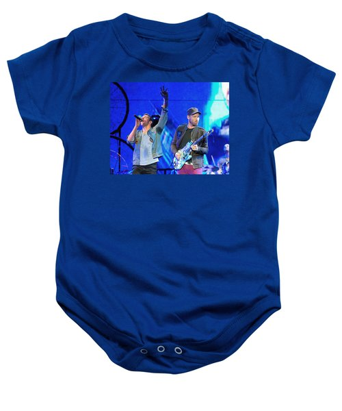 Coldplay6 Baby Onesie by Rafa Rivas