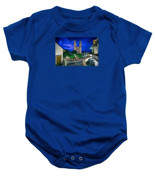 Colonial Town Of Taxco, Mexico Baby Onesie