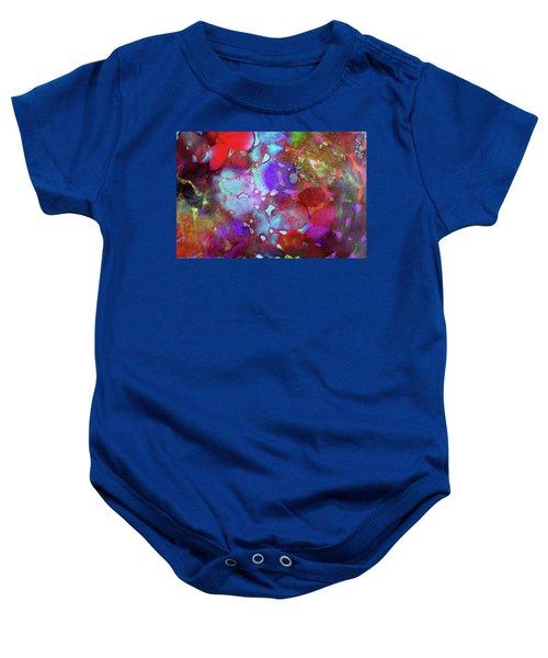 Color Burst Baby Onesie by AugenWerk Susann Serfezi