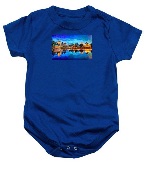 Coronado Springs Resort Baby Onesie