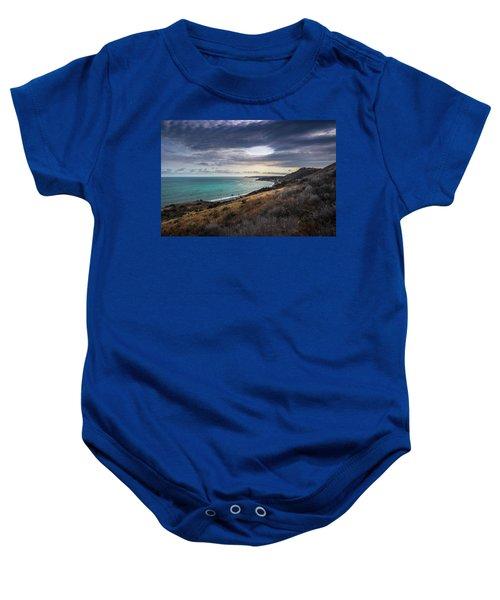 Corral Canyon Malibu Trail Baby Onesie