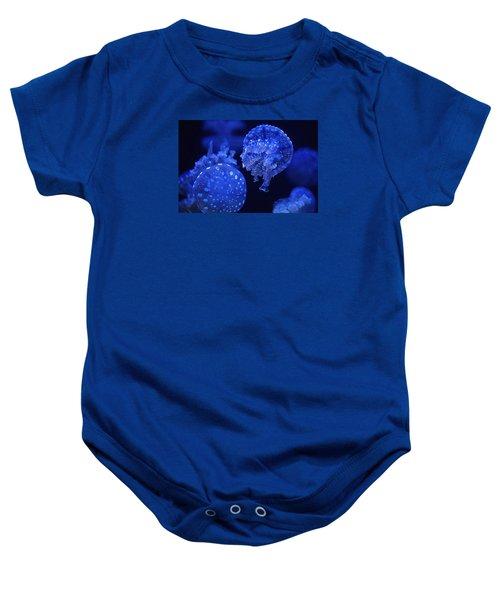 Cosmic Jellyfish 3 Baby Onesie
