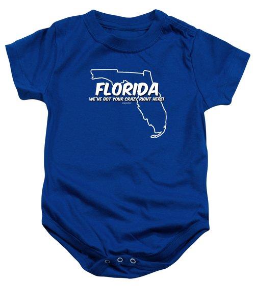 Crazy Florida Baby Onesie