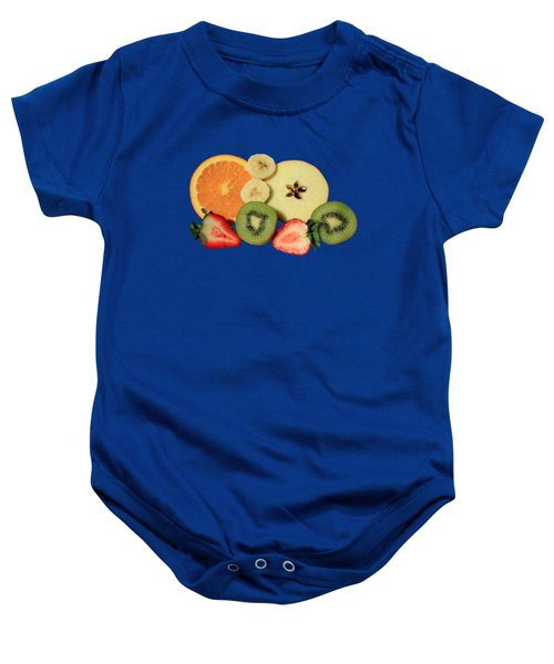 Cut Fruit Baby Onesie by Shane Bechler