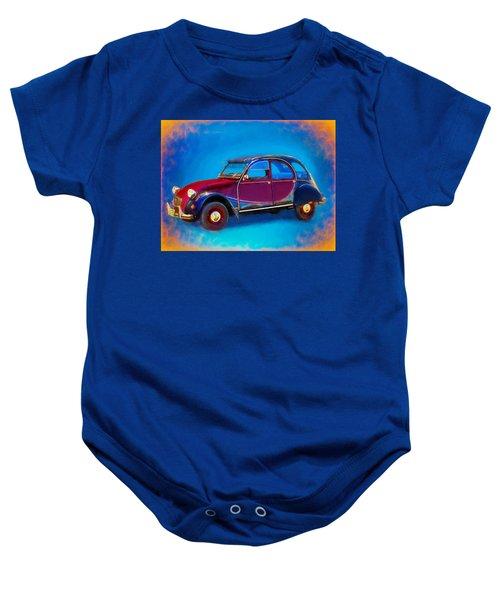 Cute Little Car Baby Onesie