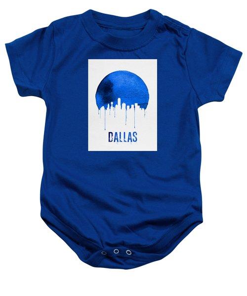 Dallas Skyline Blue Baby Onesie