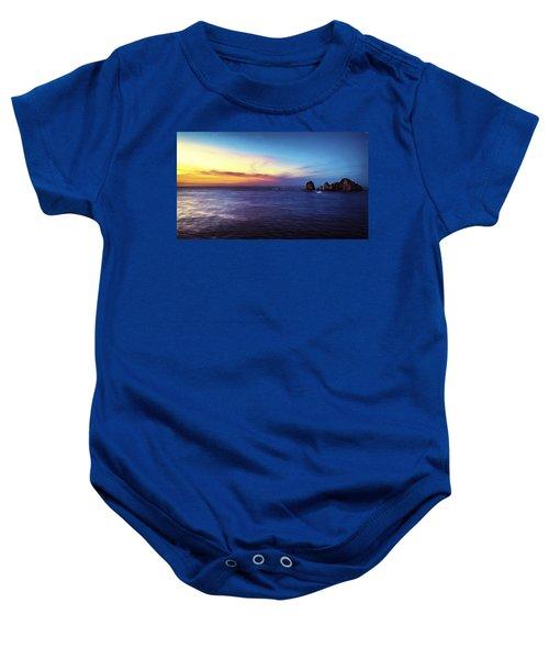Dawn In Cabo Baby Onesie