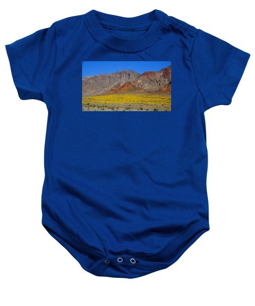Death Valley Superbloom Baby Onesie