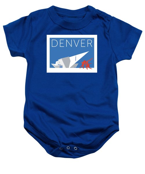 Denver Art Museum/blue Baby Onesie