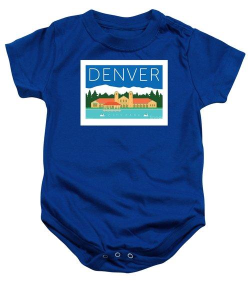 Denver City Park Baby Onesie