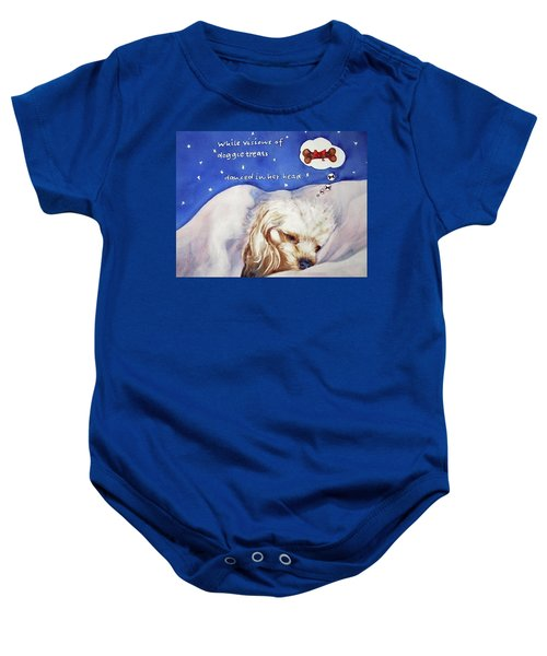 Doggie Dreams Baby Onesie