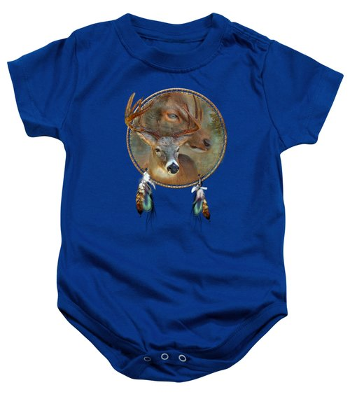 Dream Catcher - Spirit Of The Deer Baby Onesie