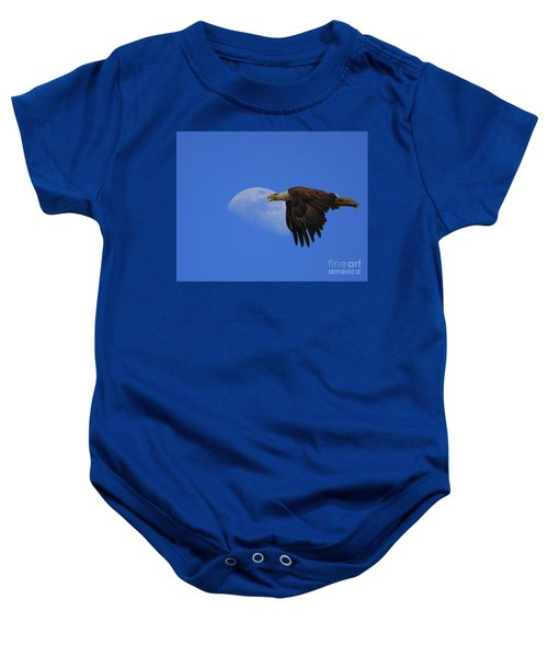Eagle Moon Baby Onesie