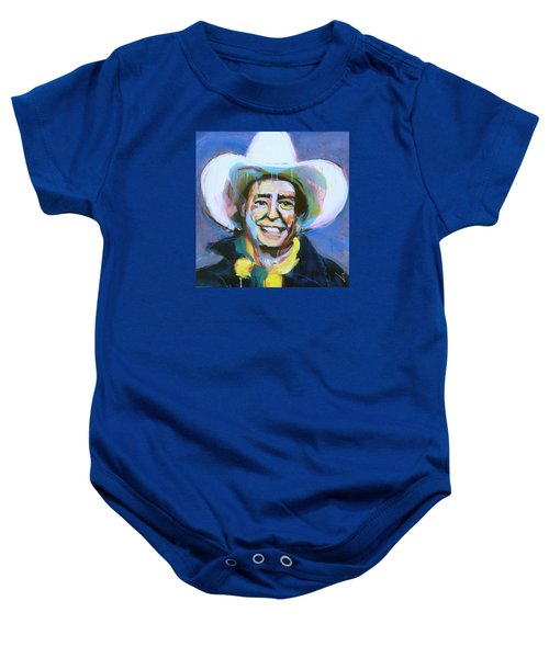 Early Willie The Flying Cowboy Baby Onesie
